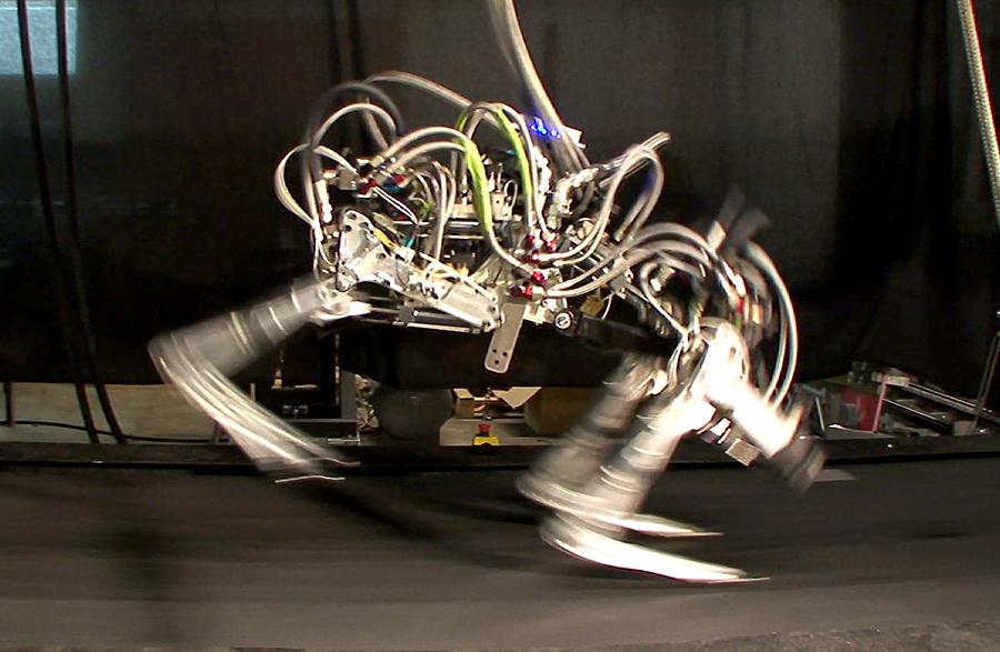 El chita robot es el robot con patas más rápido del mundo, superando los 29 km/h