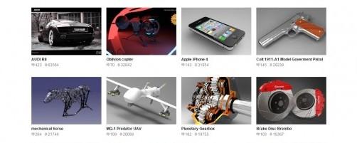 MODELOS DE IMPRESION 3D GRATIS EN GRABCAD