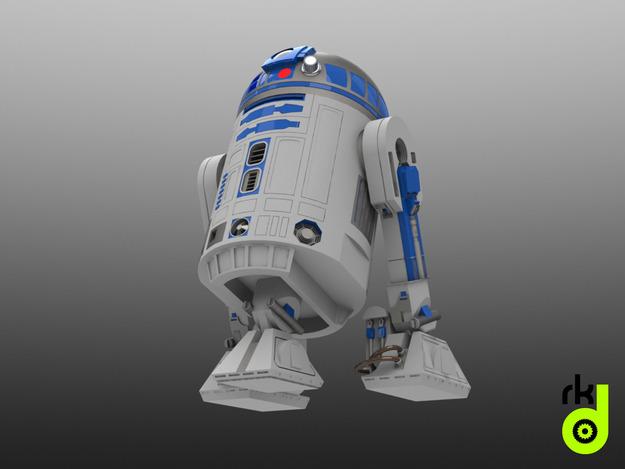 Modelos 3D Star Wars