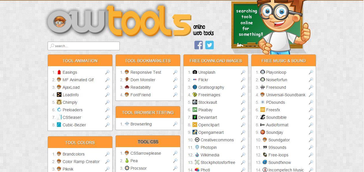 Online Web Tools